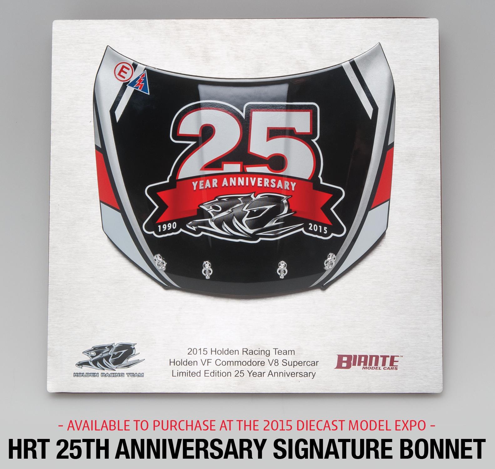 Biante HRT 25th anniversary bonnet