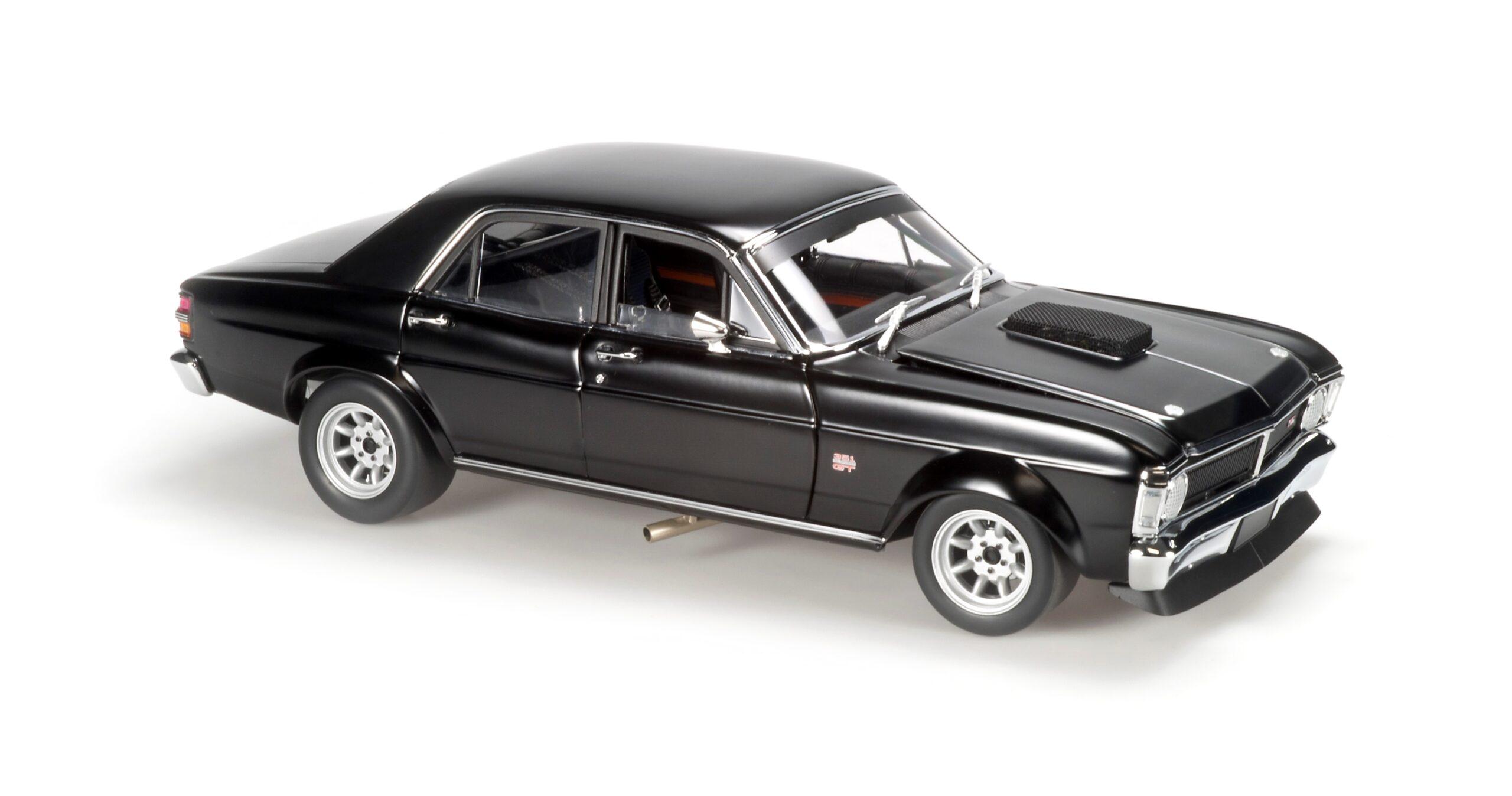 Ford Falcon XY GTHO Super Falcon, Satin black