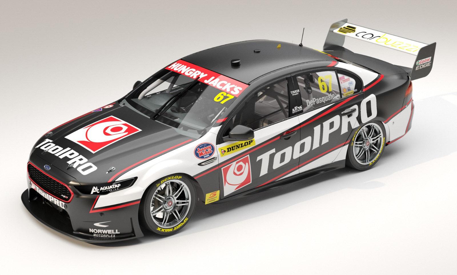 Anton DePasquale Ford Falcon FG-X Paul Morris Motorsport